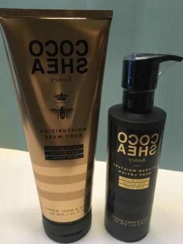 bbw coco shea honey duo body lotion