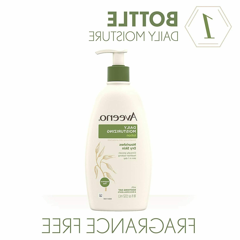 Body Lotion Daily Moisturizing Nourish Dry 18 Oz