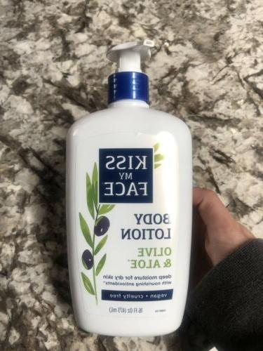 body lotion olive and aloe deep moisture