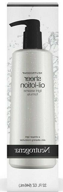 Body Oil-Lotion for Moisturizing,Skin Smooth&Silky,Sesame Oi