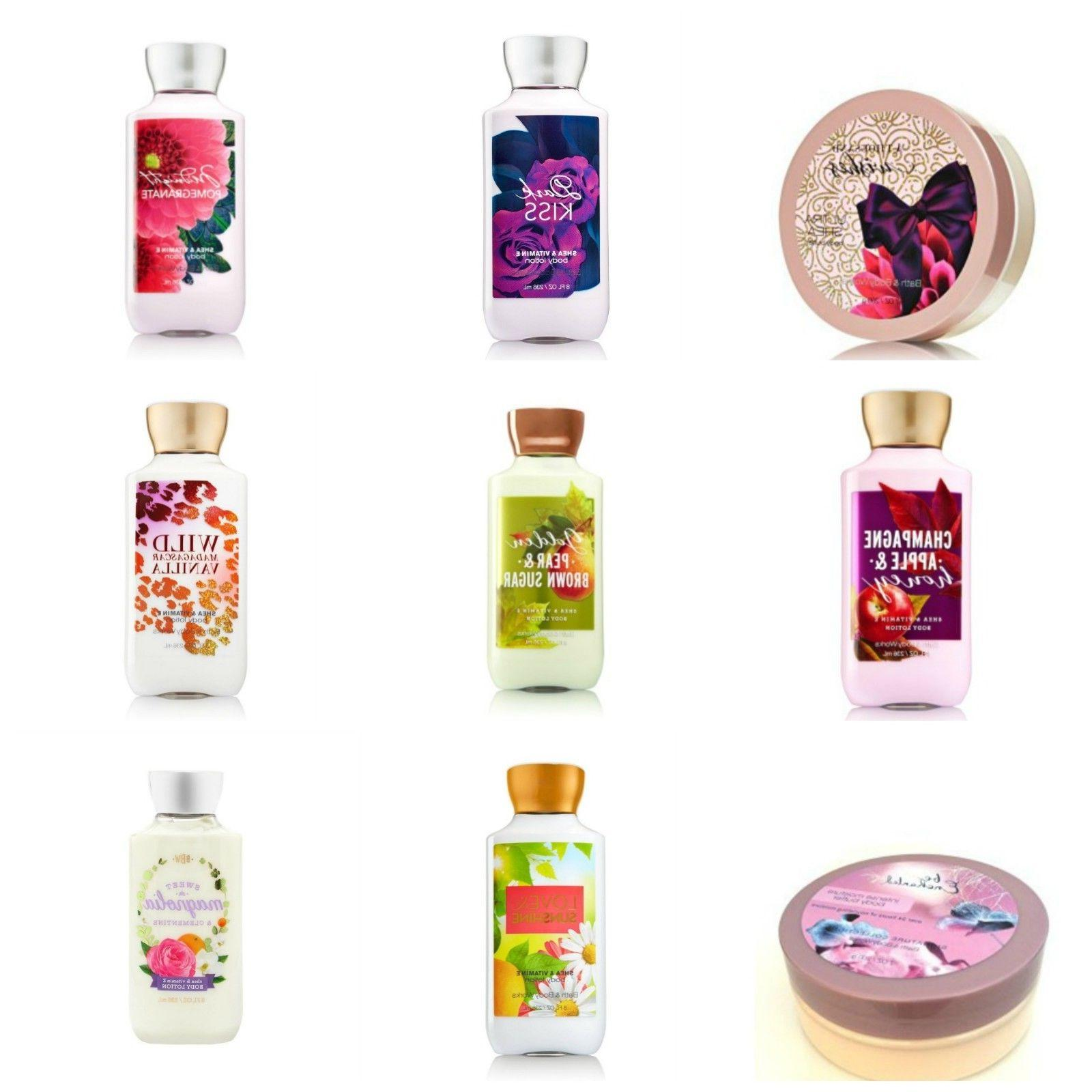 Bath Body Works Body Lotion Body or Body Butter You Choose!