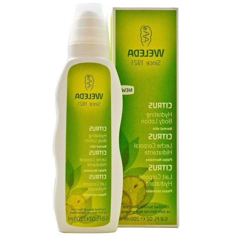 citrus hydrating body lotion 6 8 fl