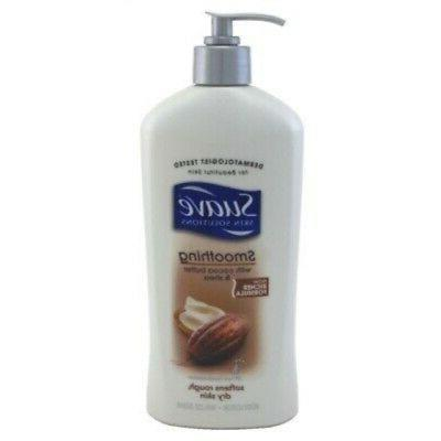 Suave Cocoa Butter Shea Body Lotion Unisex Body, 18 Ounce