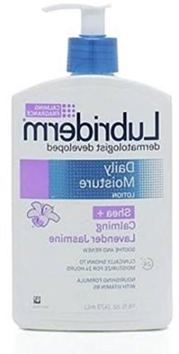 Lubriderm Daily Moisture Lotion, Shea & Lavender Jasmine 16