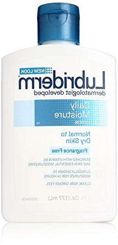 Lubriderm Daily Moisturizer Lotion, Normal to Dry Skin, Frag