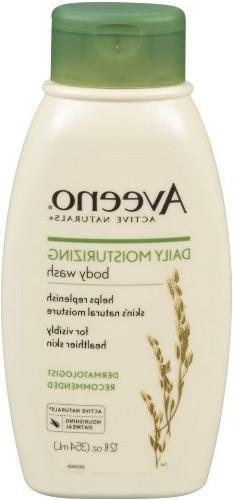 Aveeno Daily Moisturizing Body Wash, 12 Ounce  by Aveeno