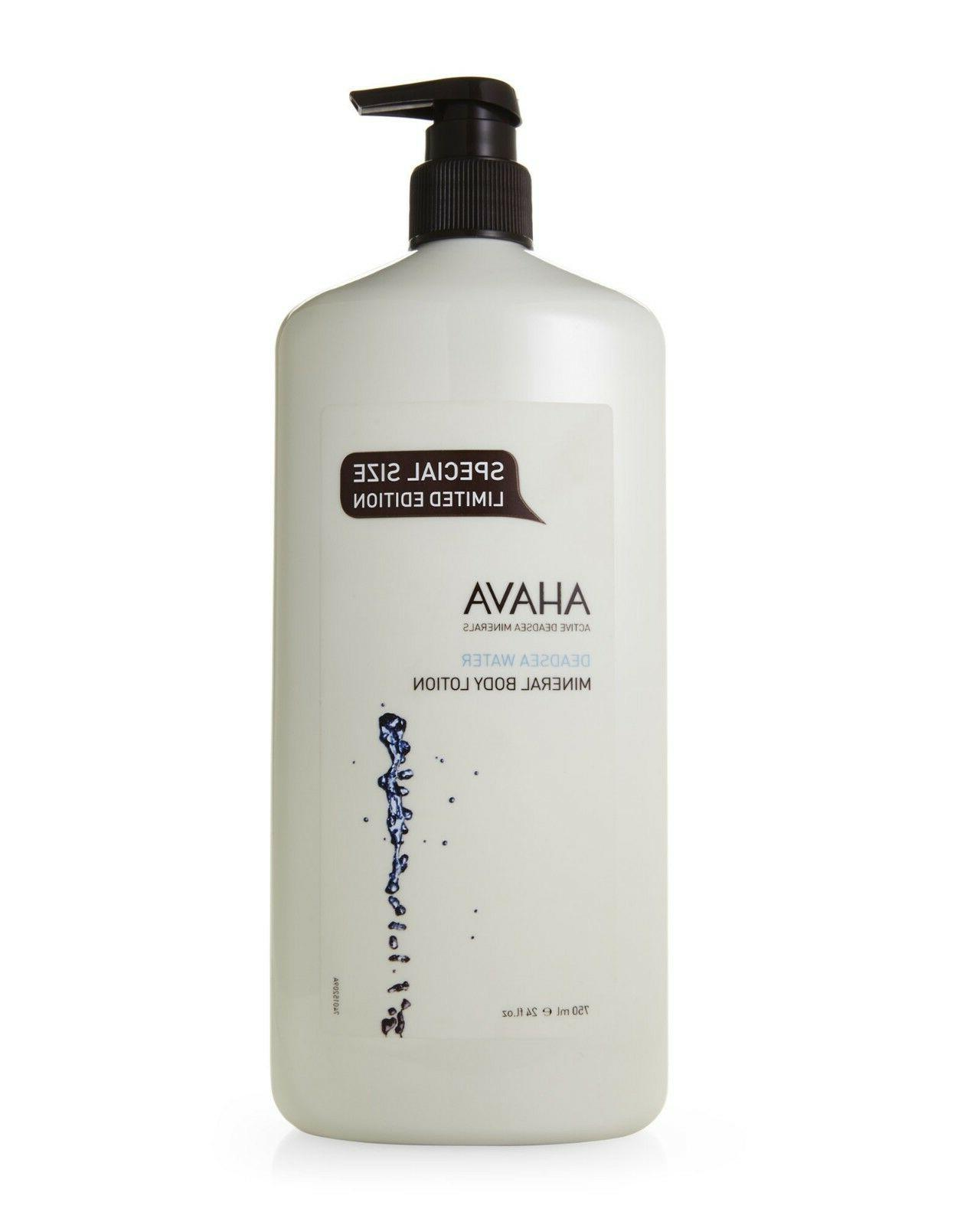 AHAVA WATER MINERAL BODY 750ml EDITION SIZE!