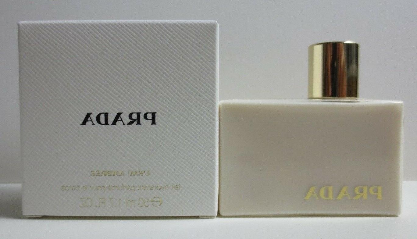Prada Ambree Body Lotion 50ml 1.7 fl with Travel Size