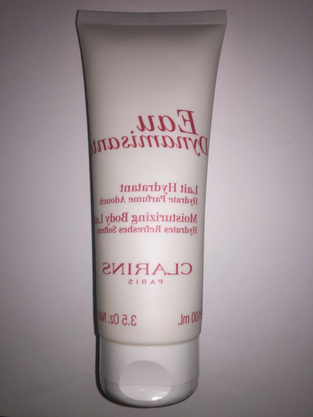 eau dynamisante moisturizing body lotion 3 5oz