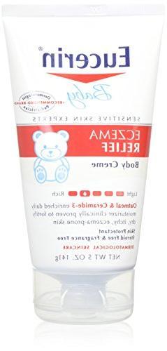 Eucerin Baby Eczema Relief Body Creme 5oz - 2 Pack