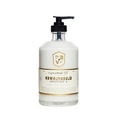 U.S. Apothecary Elderflower and Vetiver Body and Hand Lotion