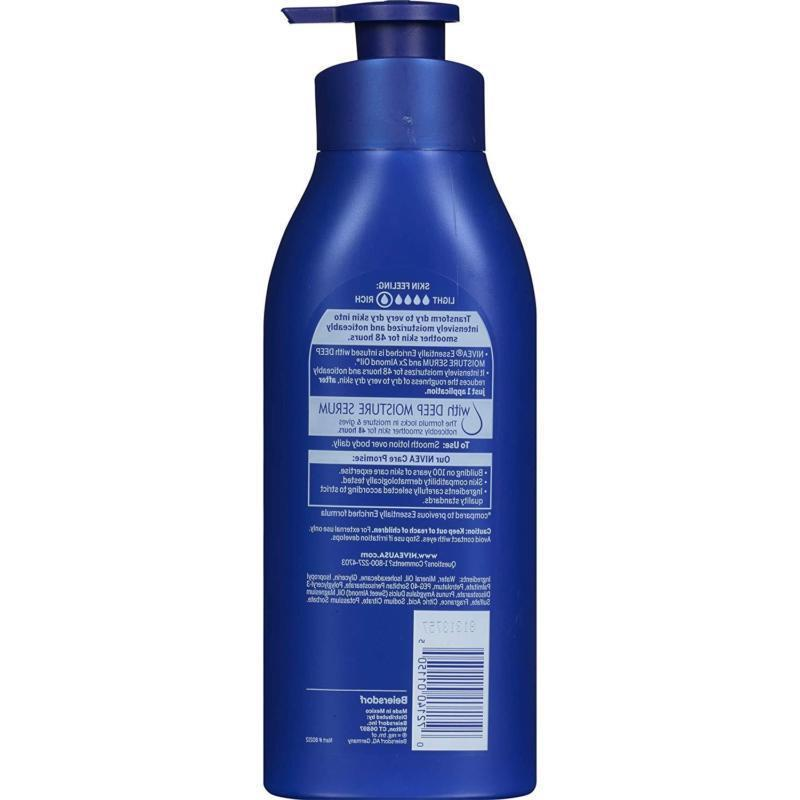 NIVEA Essentially Body Lotion fl Extra Dry
