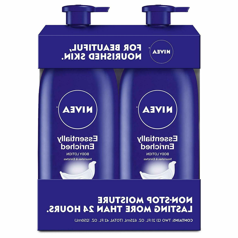essentially enriched body lotion hydra iq plus