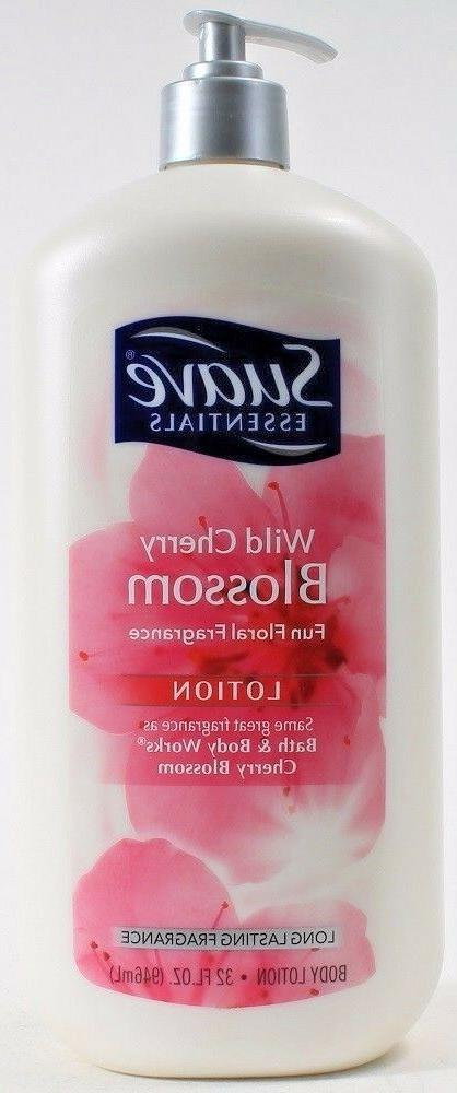 Suave Essentials Fun Floral Fragrance Body Lotion, Wild Cher