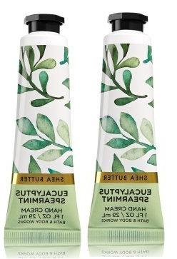 Bath and Body Works 2 Pack Eucalyptus Spearmint Shea Butter