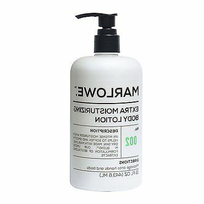 Marlowe. No. 002 extra moisturizing body lotion 15 oz