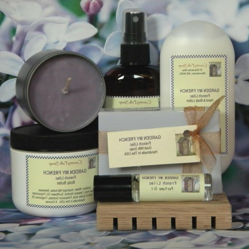GARDEN Lilac Scented Women's Hand Body Lotion Skin