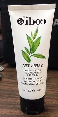 Codi Green Tea nourishing and rejuvenating Hand & Body Lotio