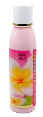 Hawaii Forever Florals Body Lotion 4 Bottles 4 oz. Each Plum