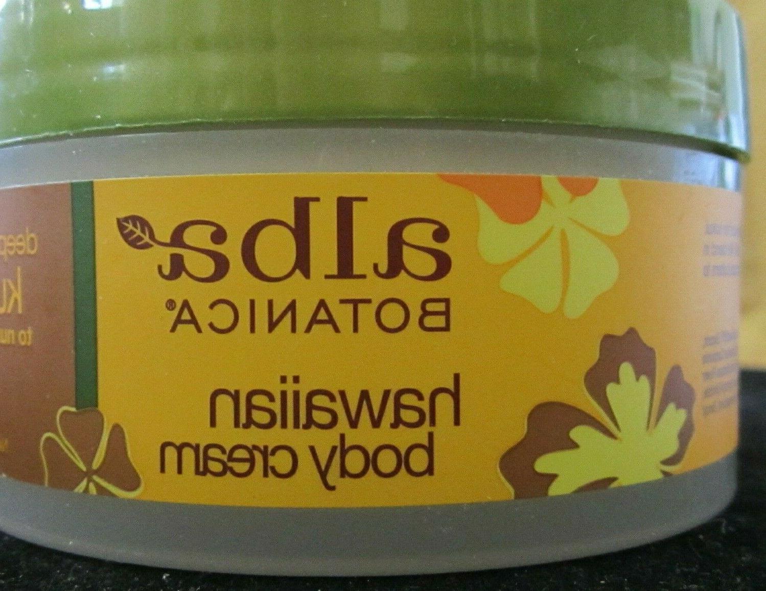 ALBA Botanica Hawaiian body cream kukui nut 6.5 oz