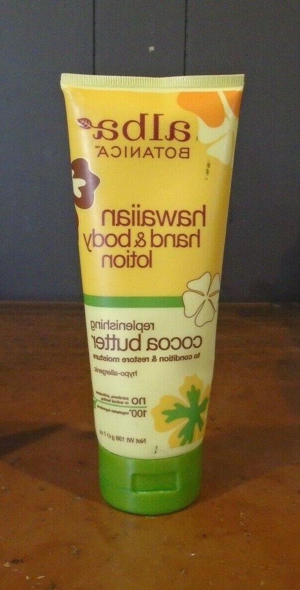 hawaiian hand and body lotion replenishing cocoa