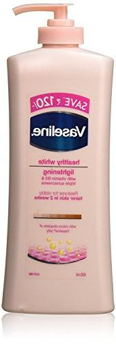 Vaseline Healthy White Lightening Visible Fairness Body Loti