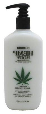Hemp Herbal Body Lotion 13.5oz Pump