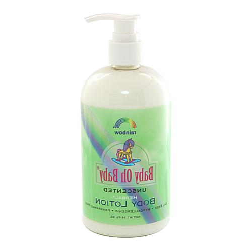 Rainbow Research Body Lotion Herbal Baby, Unscented, 16 Flui