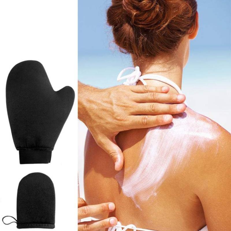 High Quality Reusable Self Tan Applicator Gloves Self Suncream Cream <font><b>Body</b></font> Cleaning