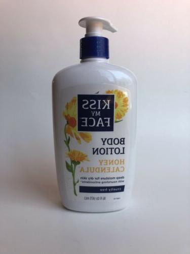 honey calendula body lotion for dry skin