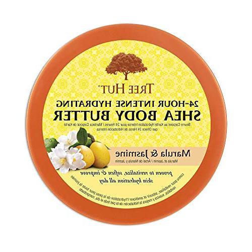 Tree Hut Intense Butter & Jasmine, Pure Butter Nourishing