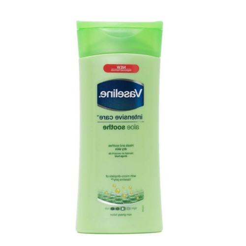 intensive care aloe smooth lotion skin hand