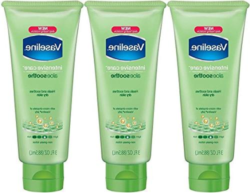 intensive care aloe soothe moisturizing