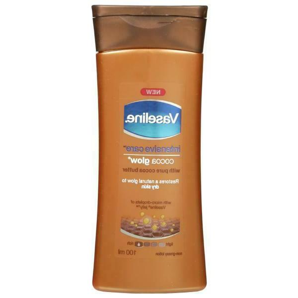 Vaseline Intensive Care Cocoa Glow Body Lotion - 100ml   Nat