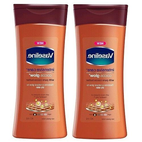 Vaseline Intensive Care Cocoa Glow Body Lotion, 40ml  free s