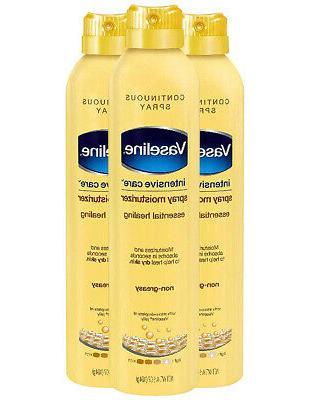 Vaseline Intensive Care Spray Moisturizer, Essential Healing