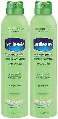 Vaseline Intensive Care Spray Moisturizer, Aloe Soothe 6.5 o
