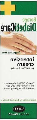 Borage Diabeticare Intensive Cream, 3.5 Ounce