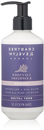 Crabtree & Evelyn Lavender & Espress Body Lotion, 8.5 fl. oz