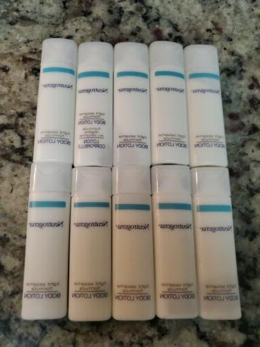Neutrogena Light Sesame Formula Body Lotion lot of 28 ea 0.8