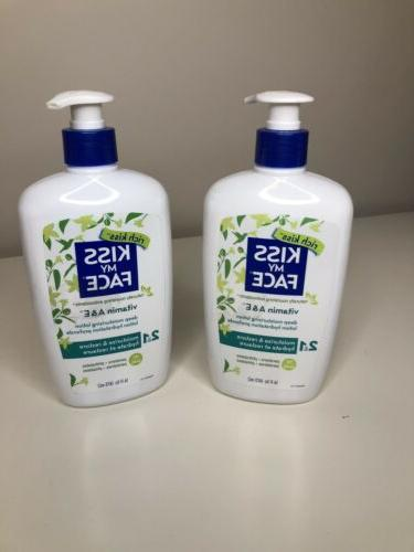 lot of 2 body lotion vitamin a