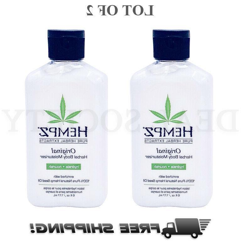 lot of 2 original herbal moisturizer body