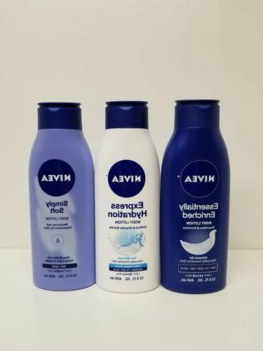 lot of 3 body lotion essentially enriched