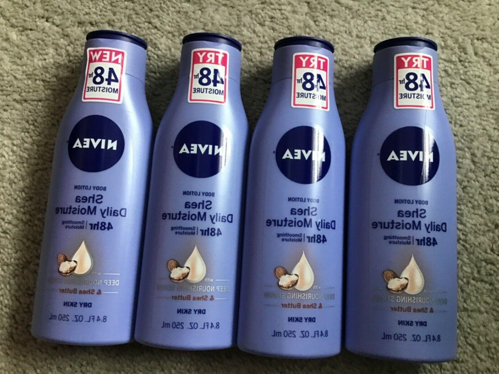 lot of 4 body lotion daily moisture