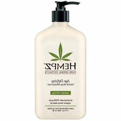 lotion herbal body moisturizer age defying 17