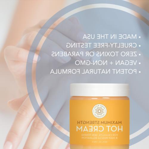 Pure Naturals Strength Hot Cream, Ounces