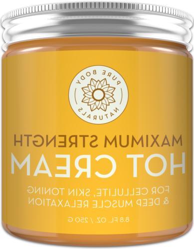 maximum strength hot cream 8 8 ounces