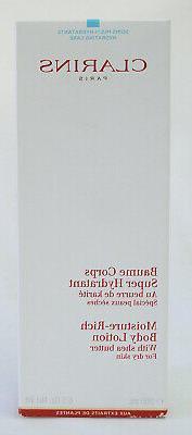 Clarins Moisture-Rich Body Lotion w/ Shea Butter 6.5 oz 200m