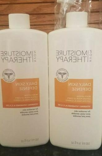 Avon Moisture Therapy Daily Skin Defense Body Lotion with vi