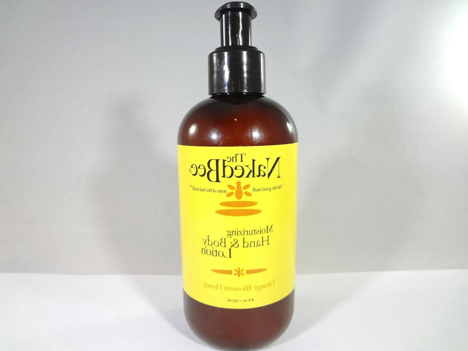 moisturizing hand and body lotion orange blossom
